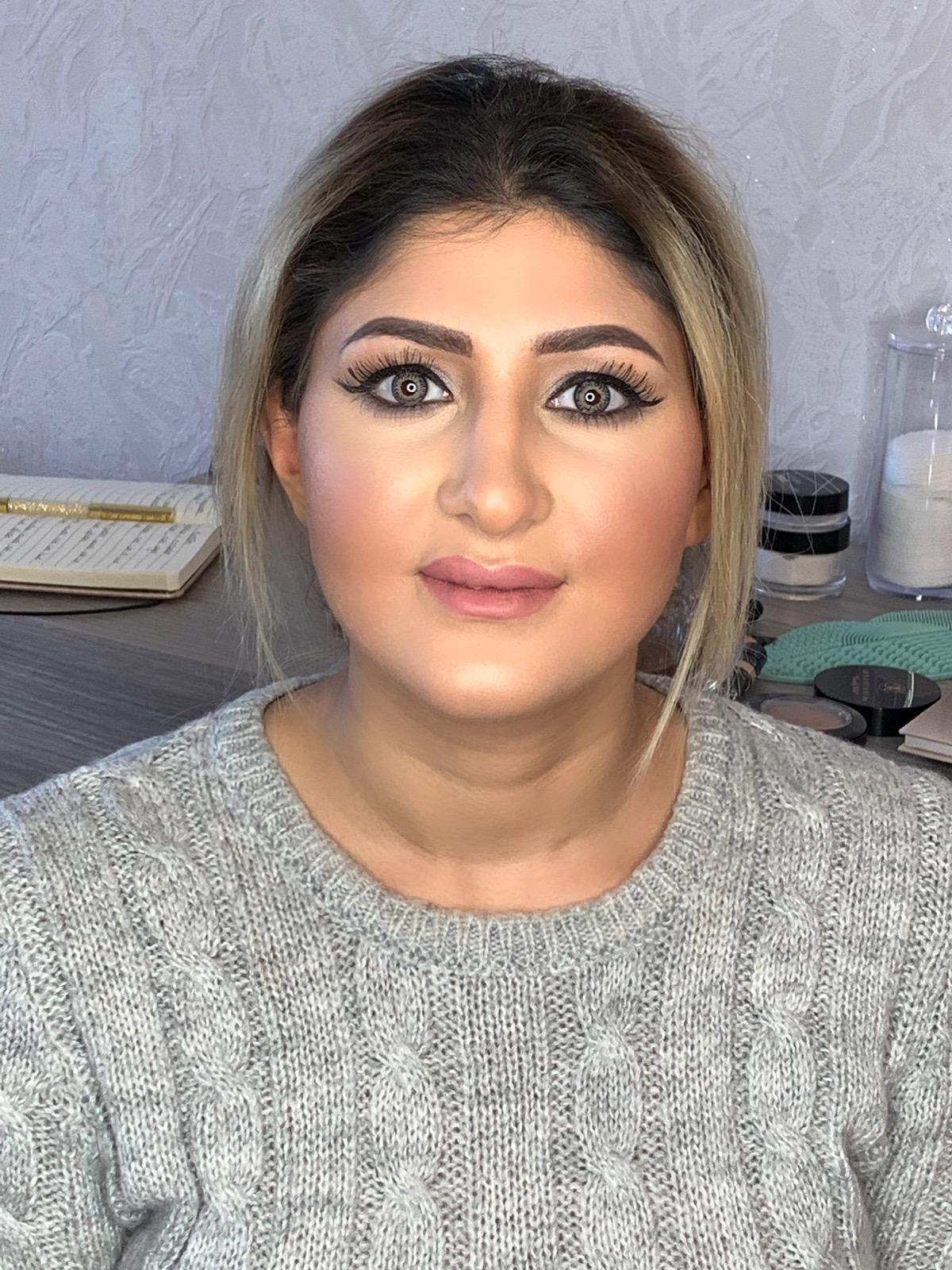 Koerdisch dame makeup Breda